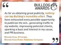 Testimonial From Bulldog Reporter